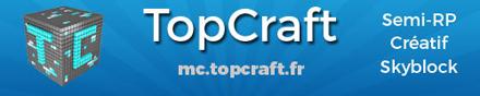 TopCraft.fr - Serveur Minecraft
