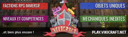 Vikicraft - Serveur Minecraft