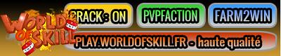 WorldOfSkill - Serveur Minecraft