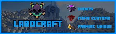 ⚡ LaboCraft [ PvpFaction Unique ]⚡ - Serveur Minecraft