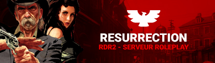 Red Dead Resurrection - Serveur Red Dead Redemption 2