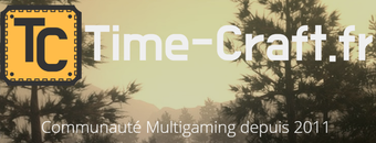 Time-Craft - Serveur Multigaming