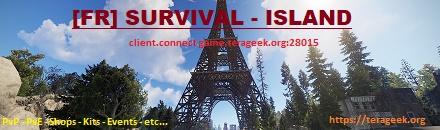 [FR] SURVIVAL-ISLAND - Serveur Rust