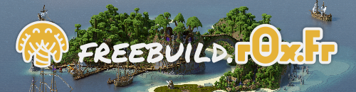 r0x.fr - Freebuild - Serveur Minecraft