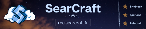 SearCraft - Serveur Minecraft