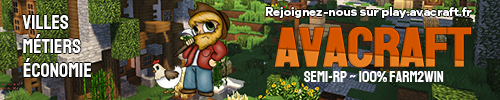 Avacraft - Serveur Minecraft