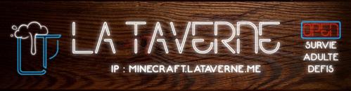 La Taverne | Adulte - Survie - Serveur Minecraft