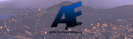 ALTIS FRANCE ROLEPLAY - Serveur Arma 3