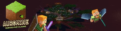 [FR] Auromine - Serveur Minecraft