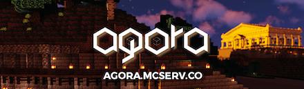 Minecraft Agora - Serveur Minecraft