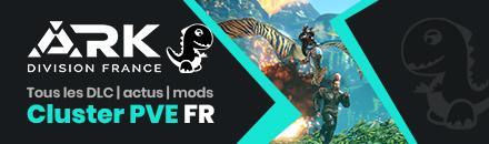 ARK Division France | Cluster PVE tous les DLC 9 maps [FR] - Serveur ARK