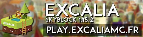 Excalia - Serveur Minecraft