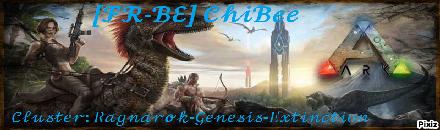 [Fr - Be] ChiBee Cluster - Serveur ARK