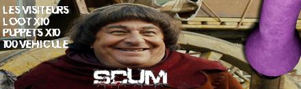 Les visiteurs - Serveur Scum