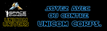 UniCom Univers - Serveur Space Engineers