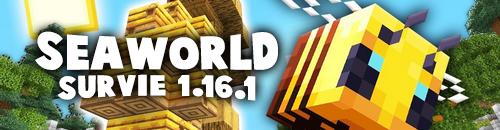 SEAWORLD | SURVIE ET SKYBLOCK 1.16 - Serveur Minecraft