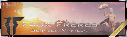Faux-Frères Vanilla [Débutant] - Serveur Rust