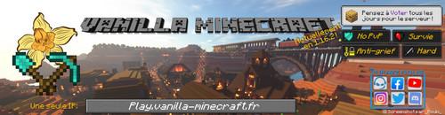 Vanilla-Minecraft - Serveur Minecraft