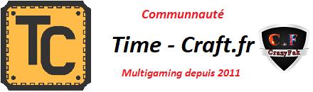 ✪ FR | Time-Craft.fr - Serveur Multigaming