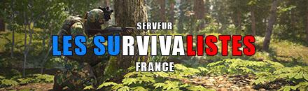 [FR] Les Survivalistes /!\ PVE A&D 1,2,3,4   PVP /!\ - Serveur Scum