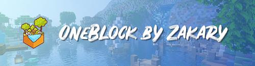 Oneblock by Zakary - Serveur Minecraft