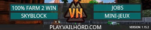 VailHord - Serveur Minecraft