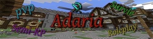 Adaria - Serveur Minecraft