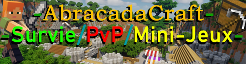 AbracadaCraft - Serveur Minecraft