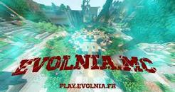 EvolniaMC - Serveur Minecraft