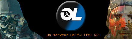 [FR/QC] One Life Roleplay | FPS BOOST | HL2 RP - Serveur Garry's mod