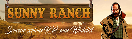 Sunny Ranch RP - Serveur Red Dead Redemption 2