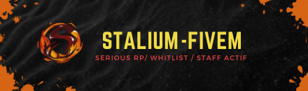 Stalium RolePlay - Serveur GTA