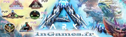 1nGames-ARK FR [PVE][PVP] Cluster - Serveur ARK
