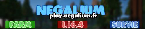 NegaliumFR - Serveur Minecraft