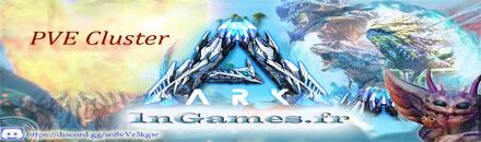 1nGames-ARK FR [PVE] Cluster - Serveur ARK