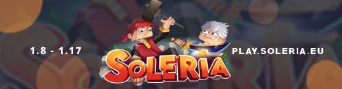 Soleria - PvP/Factions Farm2Win - Serveur Minecraft